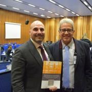 Félix Rueda y Xavier Bonet, responsables del estudio presentado hoy.