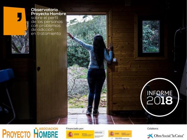 Informe 2018 Observatorio Proyecto Hombre