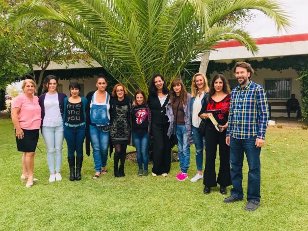 proyecto-hombre-huelva-Visita_Coordinadora_IAM_2019